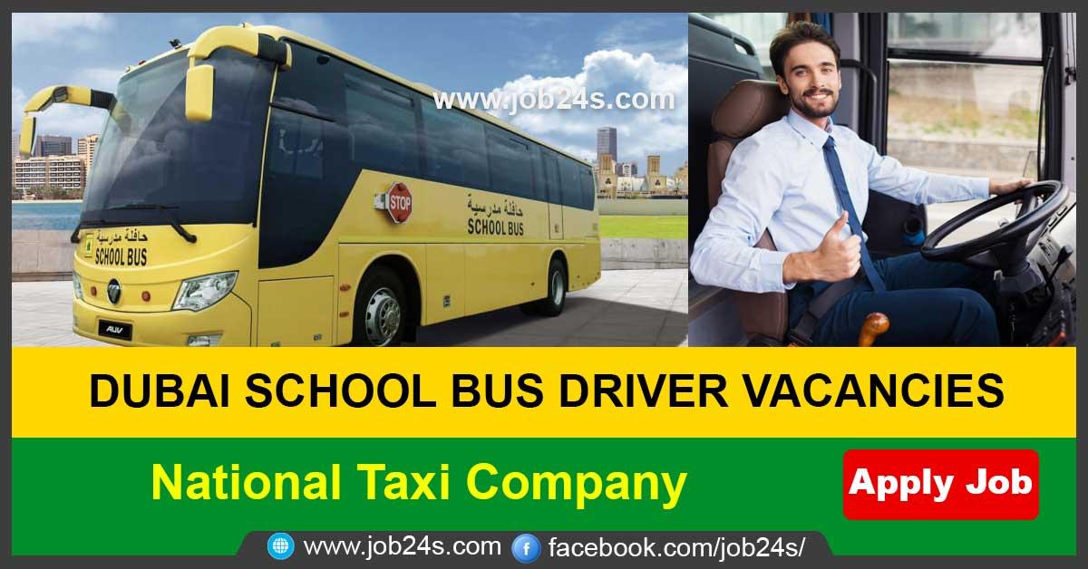 DUBAI SCHOOL BUS DRIVER VACANCIES -