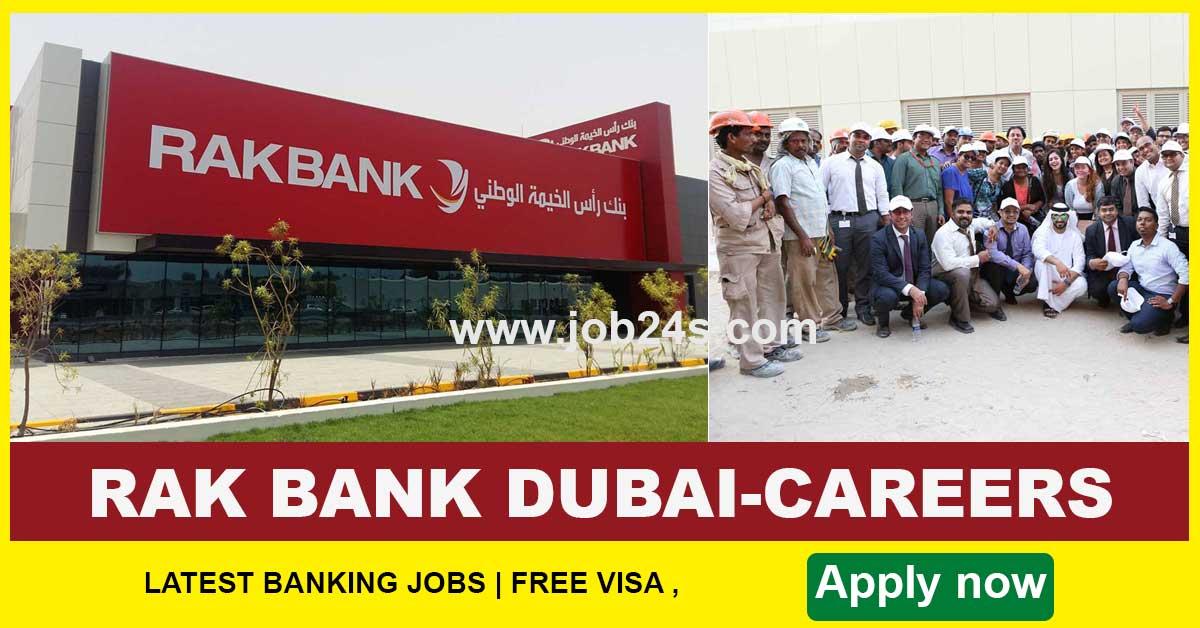 RAK BANK DUBAI-CAREERS-BANK JOBS IN DUBAI 2021