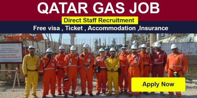 GULF JOB 2021-QATAR JOBS-QATAR GAS-CAREERS-QATAR GAS FREE RECRUITMENT 2021