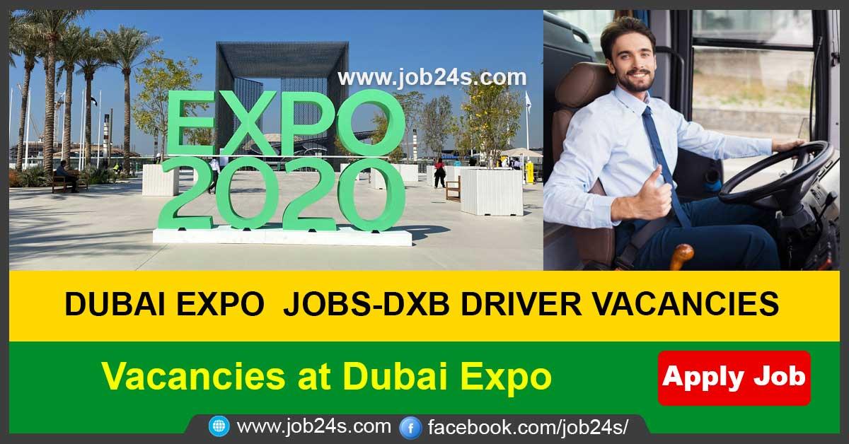 Vacancies at Dubai Expo
