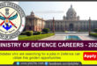 GOVT OF INDIA JOBS-MINISTRY OF DEFENCE CAREERS – 2021