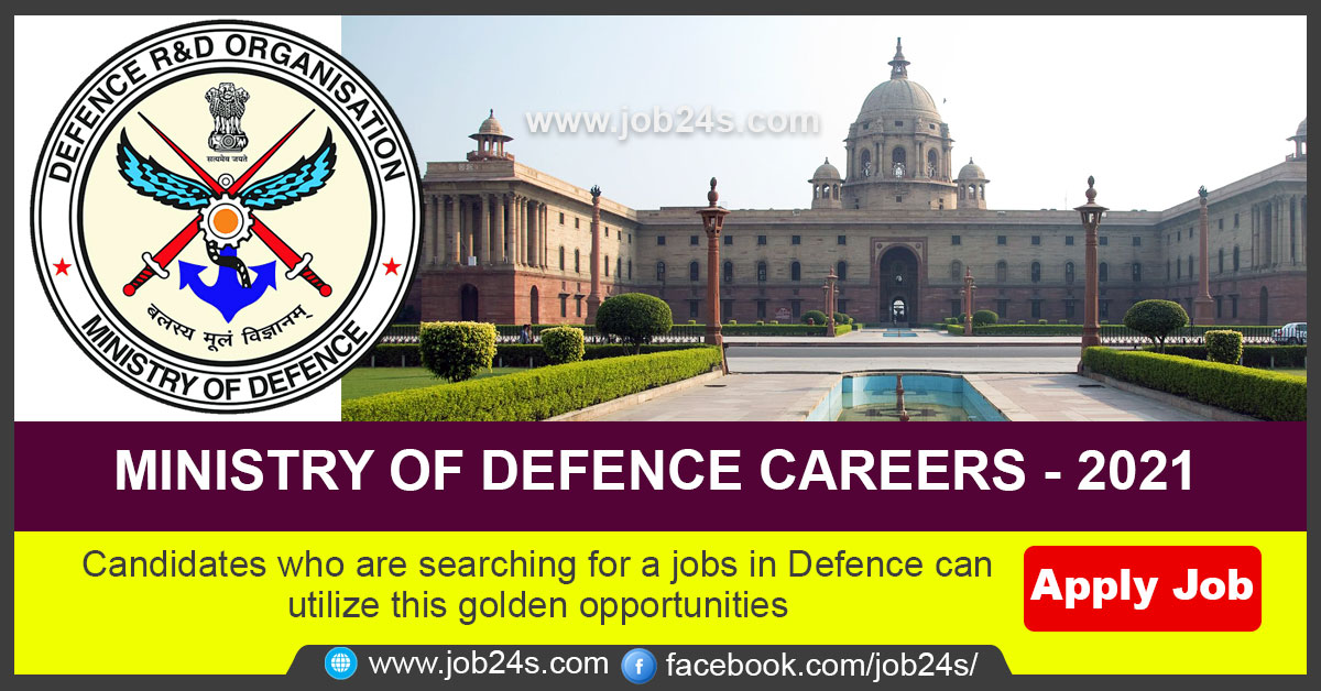 Candidates who are searching for a jobs in Defence can utilize this golden opportunities