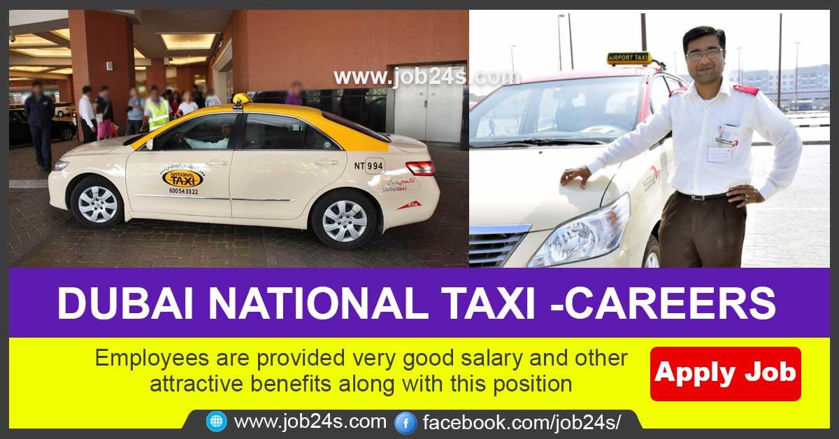 GULF JOB 2021-DUBAI NATIONAL TAXI -CAREERS