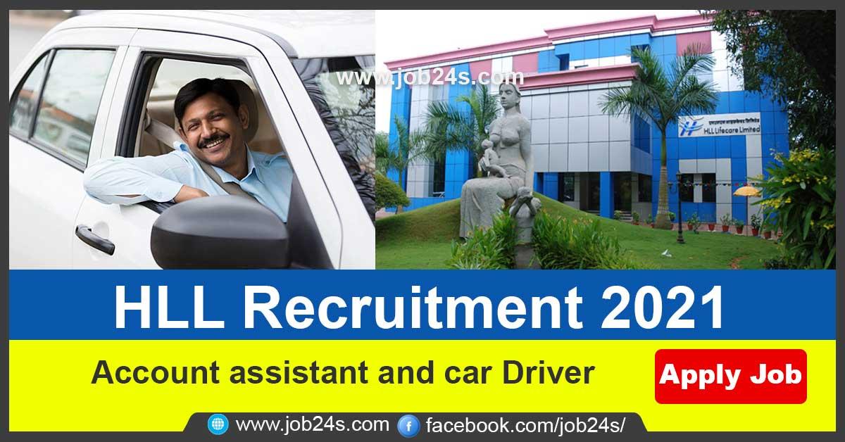 HLL Recruitment 2021- Apply Online-JOB24S