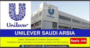 GULF JOB 2021-UNILEVER SAUDI ARBIA CAREERS 2021-JOB24S